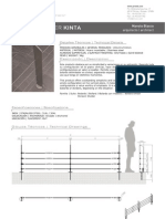 Mobiliario urbano Proiek - Divisor Kinta
