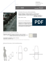 Mobiliario urbano Proiek - Bolardo Ego