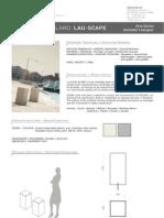 Mobiliario urbano Proiek - Bolardo Lau Scape