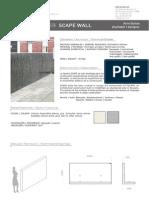 Mobiliario urbano Proiek - Divisor Scape Wall