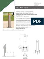 Mobiliario urbano Proiek - Bolardo Reflekta