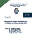 Metodologia Reparacion Soldadura Recipientes Presion