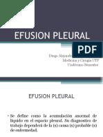 EFUSION PLEURAL