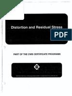 Module 07- Distortion & Residual Stress