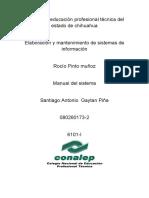 Manual Del Sistema