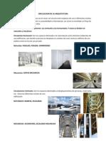 Circulacion en La Arquitectura