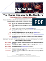 The Obama Economy By The Numbers