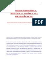 ion Historica Ideologica y Tematica a La Psicologia Social