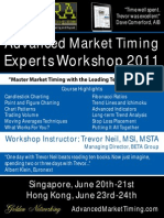 The Most Enlightening Technical Analysis Seminar, Advanced Market Timing Experts Workshop 2011