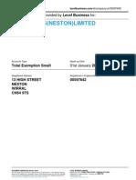 W.B.BARNES(NESTON)LIMITED  | Company accounts from Level Business