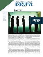 Government Executive   Secret of Success  September 1, 2007