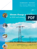 Climate Change and Energy to 2020 and Onwards
