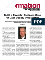 Build a Powerful Business Case for DQ