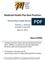 Medicaid Health Plan Best Practices - Thomas Johnson