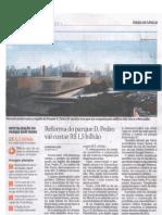 Revitalizção do Parque Dom Pedro II- Folha SP
