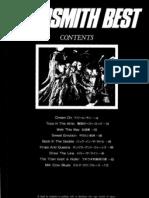 Aerosmith - Best Full Band Score (JPN)