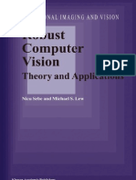 Sebe,Lew Robust Computer Vision - Theory and Applications (Kluwer)