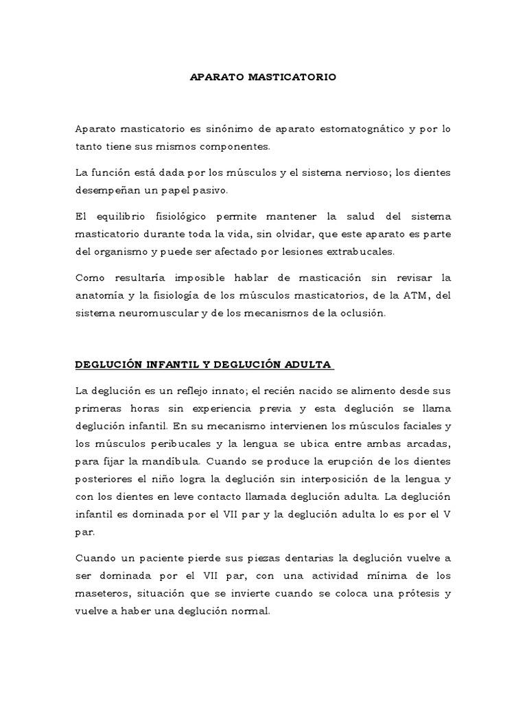 APARATO MASTICATORIO