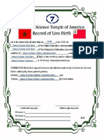 Birth Record Baby---Word doc set for fill-in