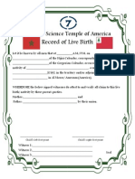 Birth Record Baby---Pdf to write in entries