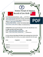 Birth Record Older---Word document set for fill-in