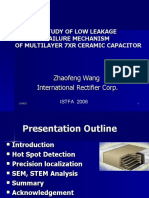 A Study of Low Leakage Failure Mechanism of X7R Multilyer Ceramic Capacitor Part1