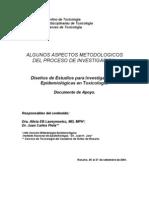 Aspectos metodológicos del proceso de investigación