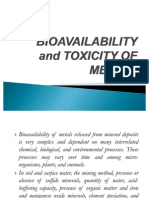 Envireport_bioavailability and Toxicity of Metals