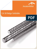 Aceros CA-50 a - BELGO Soldable