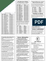 New Hampshire Schedule
