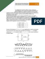 Modulación senoidal