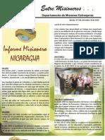 Boletin 199 NICARAGUA - DICIEMBRE 2010