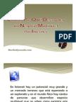 Cómo y Por qué desarrollar  un negocio Multinivel por Internet