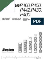 IBJSC.com - Boston Acoustics P400 Aluminum On-Wall 3-Channel Speaker
