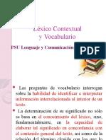 Léxico ContextuaL PSU