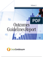 DMAA Outcomes Guidelines Volume 5