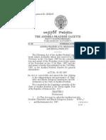 The Andhra Pradesh Hindu Charitable and Endowment Act