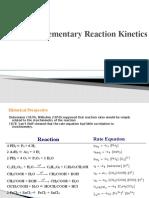 non elementary reaction kinetik