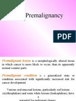 Oral Pre Malignancy Oral Medicine