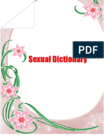 Exual Dictionary