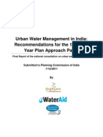 Recommendations - 12th FYP Water Mgmt
