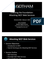 Attacking WCF Web Services-Holyfield-Shmoocon 2010