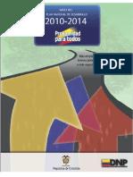Plan Nacional de Desarrollo 2010-2014