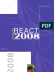 """Yearbook """"REACT 2008"""""""