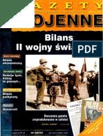 Gazety wojenne 100 - Bilans II wojny światowej