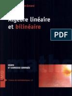 Algèbre linéaire et bilinéaire Par François Cottet-Emard