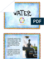 Water Power Point Presentation for the ACT Years 3 and 4