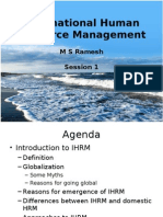 IHRM Basics