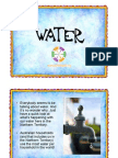 Water Power Point Presentation for the NT Years 5 and 6