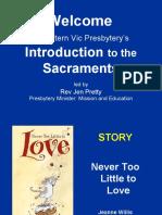 110407 Sacraments- Holy Communion